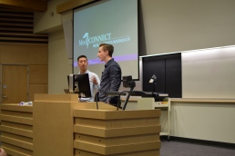 Health Ethics Workshop Presenters - Medical Students Michal and Andrew